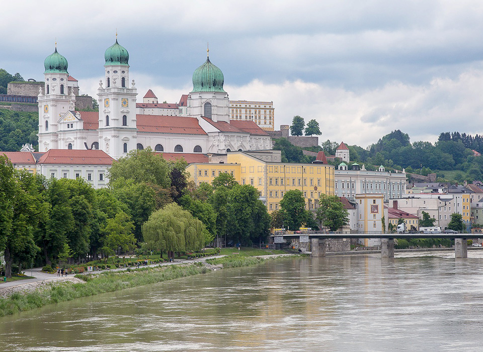 Towers of Passau